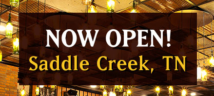 Now Open! Saddle Creek, TN